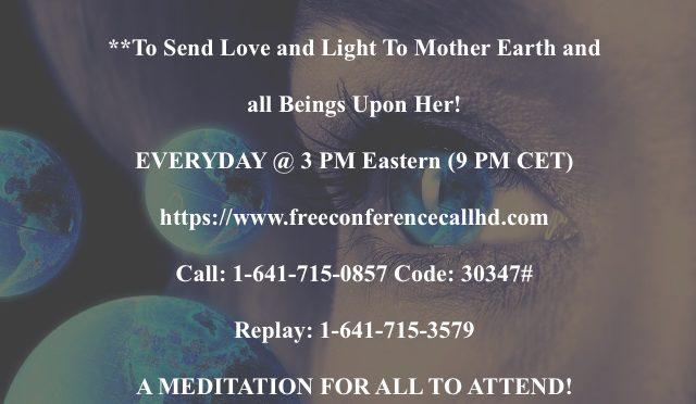 The 8,000 Global Meditation.