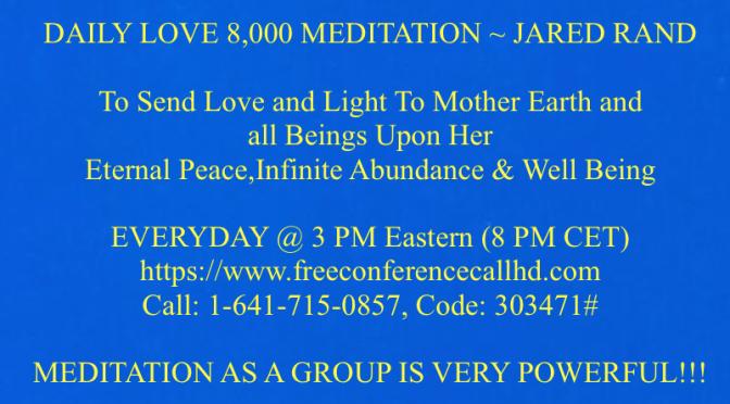 Daily Global Mass Meditation