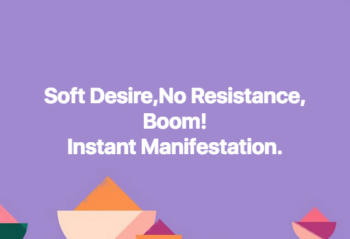 Soft Desire,No Resistance,Boom!