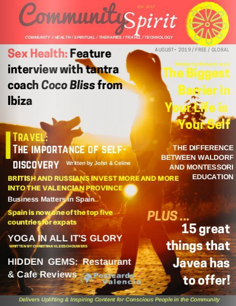 'The Importance of Self Discovery'.-Monthly Community Spirit Revue-